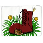 Boot in the grass Samsung Galaxy Tab 7  P1000 Flip Case