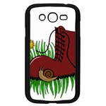 Boot in the grass Samsung Galaxy Grand DUOS I9082 Case (Black)