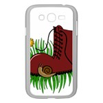 Boot in the grass Samsung Galaxy Grand DUOS I9082 Case (White)