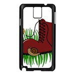 Boot in the grass Samsung Galaxy Note 3 N9005 Case (Black)