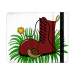 Boot in the grass Samsung Galaxy Tab Pro 8.4  Flip Case