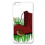 Boot in the grass Apple iPhone 6 Plus/6S Plus Enamel White Case