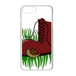 Boot in the grass Apple iPhone 7 Plus White Seamless Case