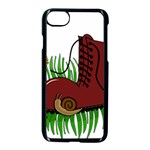 Boot in the grass Apple iPhone 7 Seamless Case (Black)