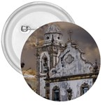 Exterior Facade Antique Colonial Church Olinda Brazil 3  Buttons