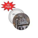 Exterior Facade Antique Colonial Church Olinda Brazil 1.75  Buttons (10 pack)