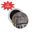 Exterior Facade Antique Colonial Church Olinda Brazil 1.75  Magnets (10 pack)