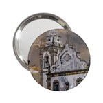 Exterior Facade Antique Colonial Church Olinda Brazil 2.25  Handbag Mirrors