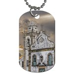 Exterior Facade Antique Colonial Church Olinda Brazil Dog Tag (One Side)