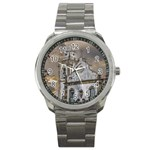 Exterior Facade Antique Colonial Church Olinda Brazil Sport Metal Watch