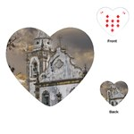 Exterior Facade Antique Colonial Church Olinda Brazil Playing Cards (Heart)