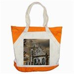 Exterior Facade Antique Colonial Church Olinda Brazil Accent Tote Bag