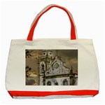 Exterior Facade Antique Colonial Church Olinda Brazil Classic Tote Bag (Red)