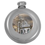 Exterior Facade Antique Colonial Church Olinda Brazil Round Hip Flask (5 oz)