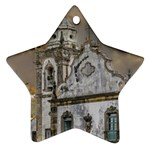 Exterior Facade Antique Colonial Church Olinda Brazil Star Ornament (Two Sides)