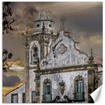 Exterior Facade Antique Colonial Church Olinda Brazil Canvas 12  x 12