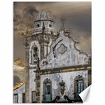 Exterior Facade Antique Colonial Church Olinda Brazil Canvas 12  x 16