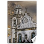 Exterior Facade Antique Colonial Church Olinda Brazil Canvas 12  x 18
