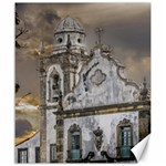 Exterior Facade Antique Colonial Church Olinda Brazil Canvas 20  x 24