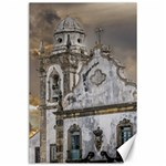 Exterior Facade Antique Colonial Church Olinda Brazil Canvas 24  x 36