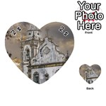 Exterior Facade Antique Colonial Church Olinda Brazil Playing Cards 54 (Heart)