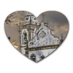 Exterior Facade Antique Colonial Church Olinda Brazil Heart Mousepads