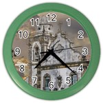 Exterior Facade Antique Colonial Church Olinda Brazil Color Wall Clocks