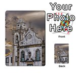 Exterior Facade Antique Colonial Church Olinda Brazil Multi-purpose Cards (Rectangle)