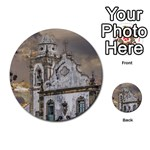 Exterior Facade Antique Colonial Church Olinda Brazil Multi-purpose Cards (Round)
