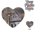 Exterior Facade Antique Colonial Church Olinda Brazil Multi-purpose Cards (Heart)