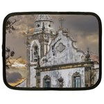 Exterior Facade Antique Colonial Church Olinda Brazil Netbook Case (Large)