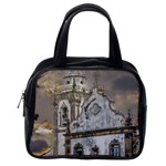 Exterior Facade Antique Colonial Church Olinda Brazil Classic Handbags (One Side)