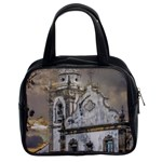 Exterior Facade Antique Colonial Church Olinda Brazil Classic Handbags (2 Sides)