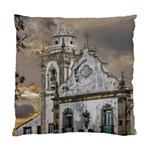 Exterior Facade Antique Colonial Church Olinda Brazil Standard Cushion Case (Two Sides)