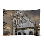 Exterior Facade Antique Colonial Church Olinda Brazil Pillow Case