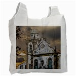 Exterior Facade Antique Colonial Church Olinda Brazil Recycle Bag (Two Side)