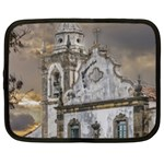 Exterior Facade Antique Colonial Church Olinda Brazil Netbook Case (XL)