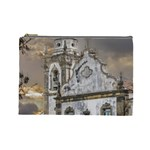 Exterior Facade Antique Colonial Church Olinda Brazil Cosmetic Bag (Large)