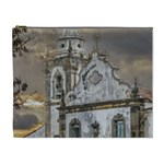 Exterior Facade Antique Colonial Church Olinda Brazil Cosmetic Bag (XL)
