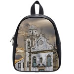 Exterior Facade Antique Colonial Church Olinda Brazil School Bags (Small)
