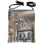 Exterior Facade Antique Colonial Church Olinda Brazil Shoulder Sling Bags