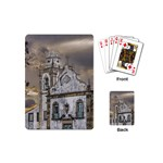 Exterior Facade Antique Colonial Church Olinda Brazil Playing Cards (Mini)