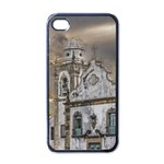Exterior Facade Antique Colonial Church Olinda Brazil Apple iPhone 4 Case (Black)