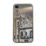Exterior Facade Antique Colonial Church Olinda Brazil Apple iPhone 4 Case (Clear)