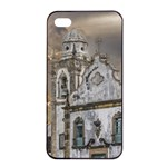 Exterior Facade Antique Colonial Church Olinda Brazil Apple iPhone 4/4s Seamless Case (Black)