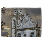 Exterior Facade Antique Colonial Church Olinda Brazil Cosmetic Bag (XXL)