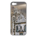 Exterior Facade Antique Colonial Church Olinda Brazil Apple iPhone 5 Case (Silver)