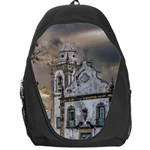 Exterior Facade Antique Colonial Church Olinda Brazil Backpack Bag