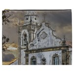 Exterior Facade Antique Colonial Church Olinda Brazil Cosmetic Bag (XXXL)