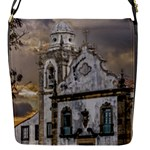 Exterior Facade Antique Colonial Church Olinda Brazil Flap Messenger Bag (S)